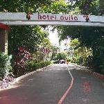 hotel property entrance