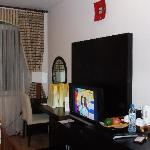 LCD TV is Deluxe rooms