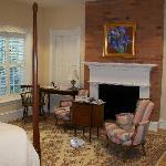 Antique furniture & Persian rug, Room 124