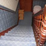 uno scorcio delle scale