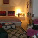 Our suite at the Dar Charkia - delightful!