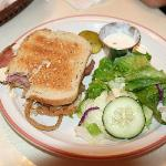 Pastrami Sandwich & Salad