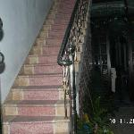 Bach Tung Diep Hotel - first staircase from ground floor