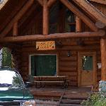Cabin we stayed in