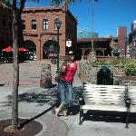 One of the squares in Flagstaff