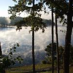 Mist on the Lake, viewed from the Seabiscuit Room