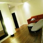 hallway/living room