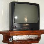TV with DVD and VCR