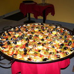 Paella for a group