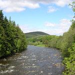 River Dee at Balmoral, Ballater, Aberdeenshire, Scotland