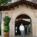 Illa D'or main entrance
