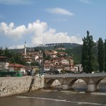 rio Bosna al paso por Sarajevo