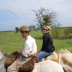 Horseback Riding with our Gaucho