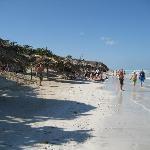 plage saccagée
