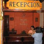 Lobby of Posada de Don Juan