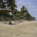 the beach at Outrigger