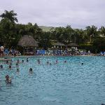 outrigger pool