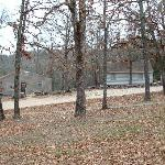 The grounds and a couple of cabins at Rocking Chair Resort, Mtn. Home, Ark.