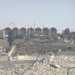 Hotel from Dome of the Rock