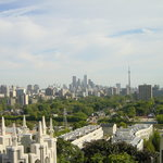 Panoramic view from Casa Loma