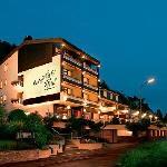 Nachtaufnahme Hotel Thul