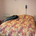 bed at hotel du bellay room #6