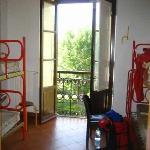 Our room in Villa Camerata