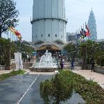 Base of the Menara Tower