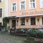 hotel entry on Marktplatz