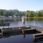 Dock on K's resort