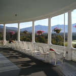 Balcony at Bretton Woods Hotel