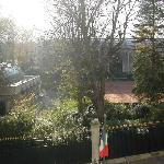 View from Room 35 over to Park