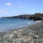 a beautiful beach hidden from sight