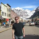 The town of Telluride, main street
