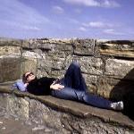 Relaxing in the sun!