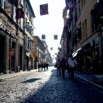 Corso Matteotti - 1km of shops & cafes