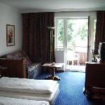 Hotel Room facing the rear