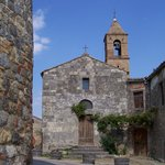 The church at San Donato