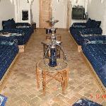 Un salón impresionante