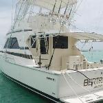 Boat at the Punta Cana Marina