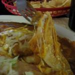 Very Cheesy Enchilada