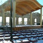 Bandstand at Kennedy Plaza 12-6-07