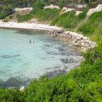 Beach just south of Taranto