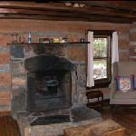 Wide view inside cabin 0