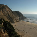 Gray Whale Cove State Beach Foto