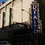 Rialto Theater across the St.