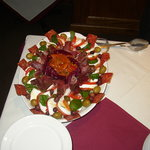 Start off with a delicious and colorful antipasto