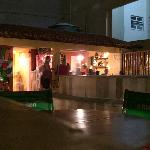 roofdeck/bar at night
