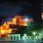 Santa Sophia at night