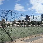 crown towers-tennis courts